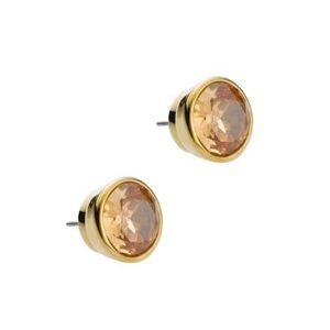 Michael Kors amber stud earrings